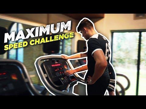 Treadmill Maximum Speed Challenge...