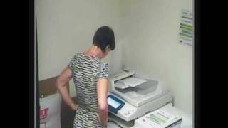 Photocopier April Fools Prank - Linguistic Module Installed