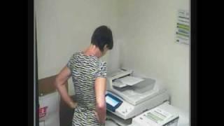 Photocopier April Fools Prank - Linguistic Module Installed