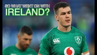 So What Went on With Ireland? | Squidge Rugby