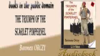 The Triumph of the Scarlet Pimpernel audiobook Baroness ORCZY