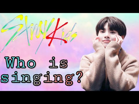 [Stray Kids] Quiz: Who is Singing? {STRAYKIDS-GAMES}