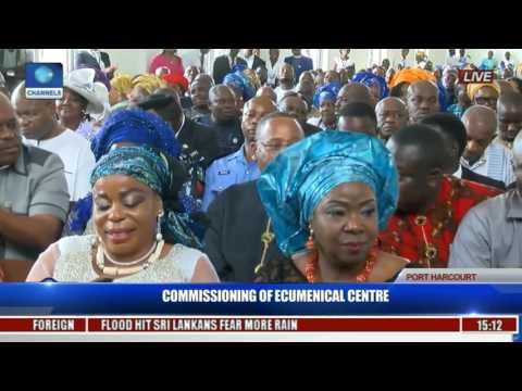 Commissioning Of Ecumenical Center Pt. 12