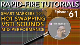 SWS Smart Markers 101: Switching instruments mid-performance (Rapid-fire REAPER Tutorials Ep61)