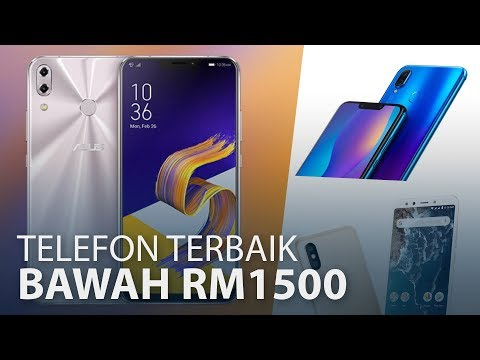 Telefon Terbaik Di Bawah RM1500 (Pertengahan 2018)