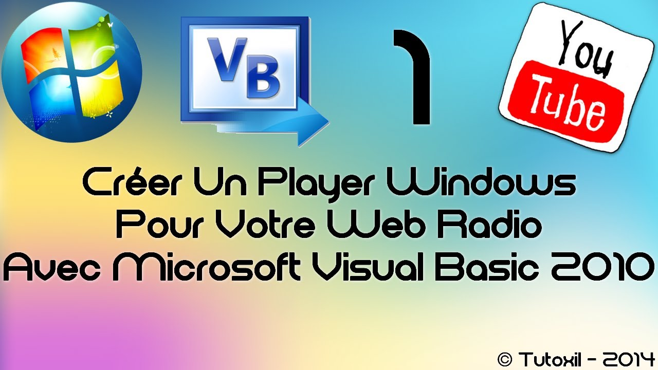 Tuto 1 cr er un player windows pour votre web radio - Ouvrir porte claquee avec radio ...