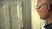 Реставрация деревянной двери - мастер класс - YouTube