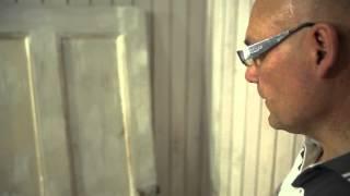 видео Дверь эконом-класса с отделкой грунт-эмаль