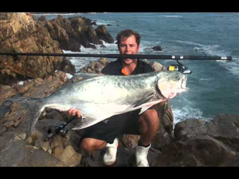 SHAWN MEY NINJA ROCK AND SURF ANGLING GUIDE SOUTH AFRICA