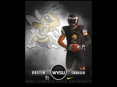 DUSTIN CROUSER | NUMBER 1 TACKLER IN COLLEGE FOOTBALL | LINEBACKER #2 West Virginia State University