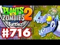 Battlez With Zombot Dinotronic Mechasaur! - Plants Vs. Zombies 2 - Gameplay Walkthrough Part 716