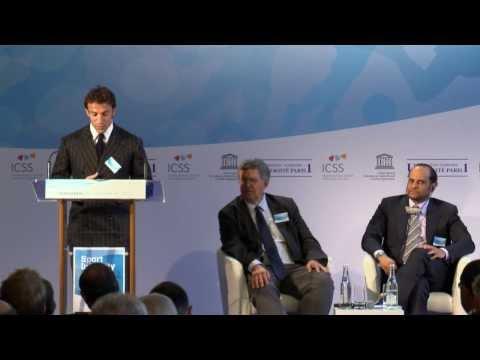 Alessandro Del Piero speaks at the Sorbonne Sport Integrity Symposium 2012