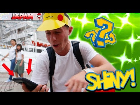 WE CAUGHT A SHINY! BUT WAS IT THE NEW PIKACHU? POKÉMON GO IN YOKOHAMA! THIS IS CRAZY!