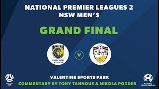 NPL 2 NSW Grand Final, North Shore Mariners FC v Hills United FC #NPLNSW