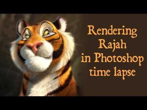 """Speed Painting - Photoshop Rajah from """"Aladdin"""" from YouTube · Duration:  3 minutes 51 seconds"""