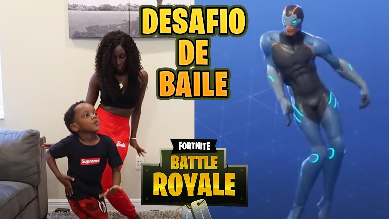 Desafío Del Baile De Fortnite En La Vida Real Super Siah Espanol Youtube
