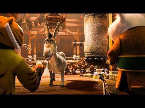 Kung Fu Panda & Shrek 'Hungry' Trailer...