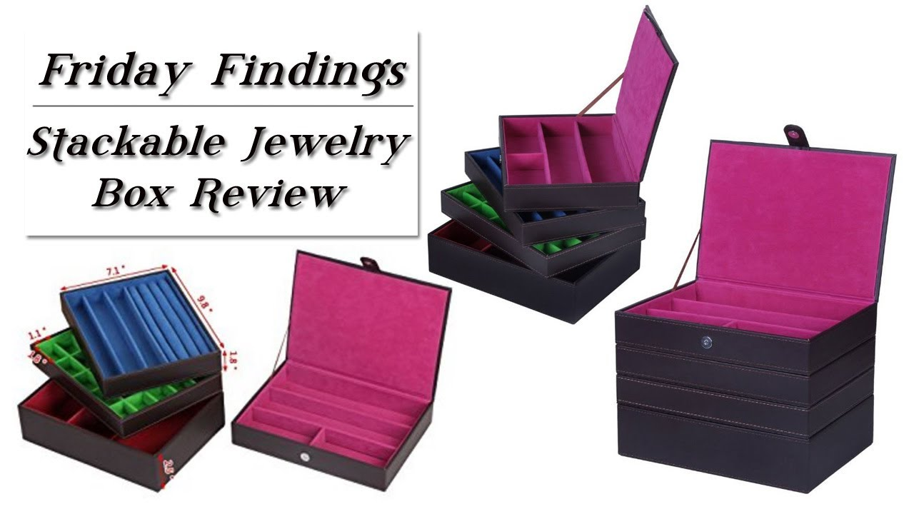 Stackable Jewelry Box Organizing U0026 Storage Product Review Friday Findings
