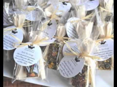 Wedding shower party favors decorating ideas 2017 YouTube