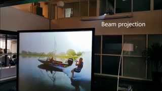 Gambar cover Making Glass Rear Projection Screen using 'S-Paint' / in Sanghai, China