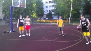 Баскетбол 2 на 2!)