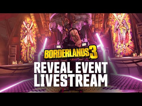 Borderlands 3 Worldwide Gameplay Reveal Livestream thumbnail