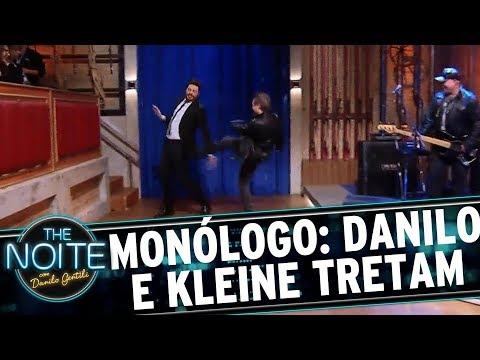 Monólogo: Danilo e Kleine tretam na abertura | The Noite (23/08/17)