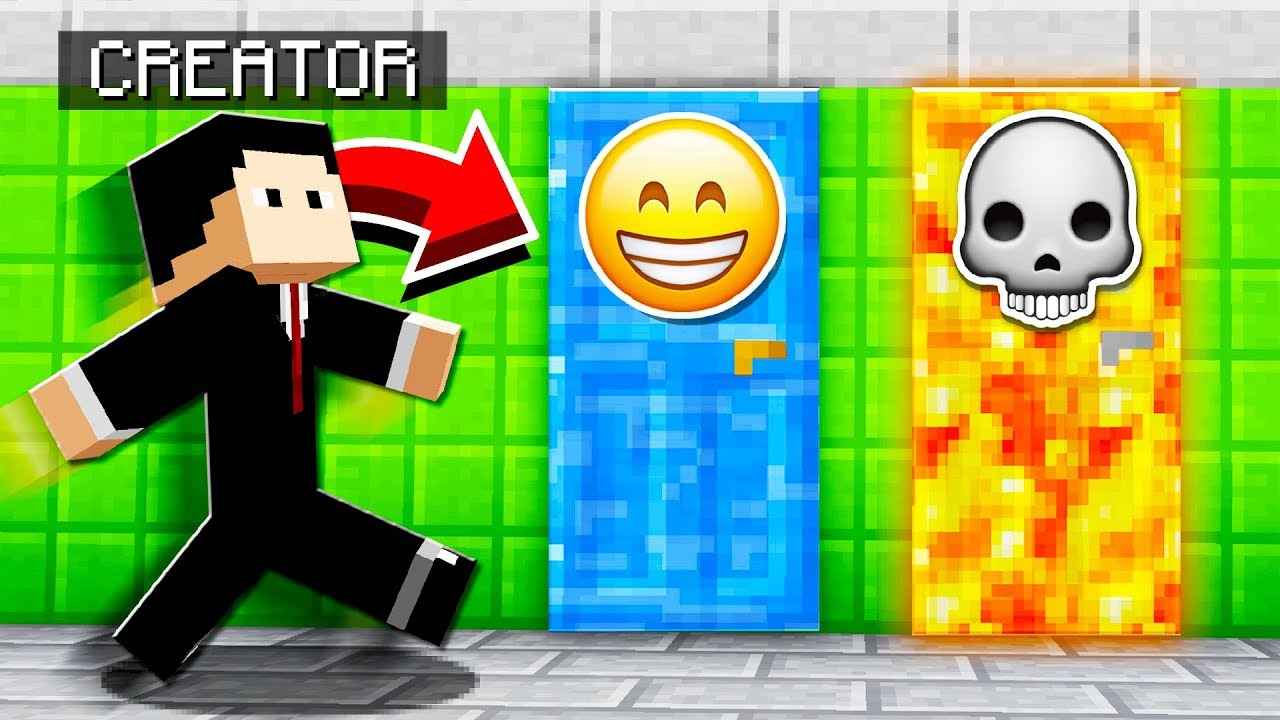 TROLLING THE MAP CREATOR IN MINECRAFT!