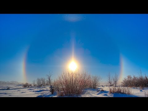Flat Earth  Mysteries of Sunlight: Halos and Sundogs