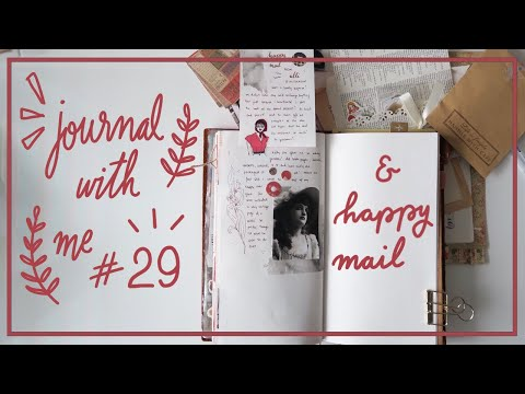 Journal With Me #29 in Traveler's Notebook & Happy Mail