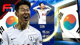 FUT18 | HEUNG MIN SON (92) - TOTS REVIEW