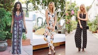 16 Stylish Jumpsuit Outfit Ideas for Summer