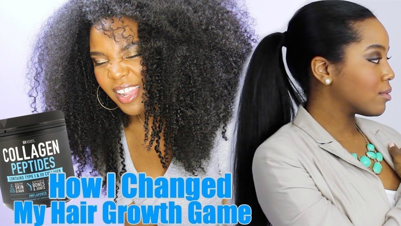 Extreme Hair Growth With Collagen: The Game Changer   Natural Hair