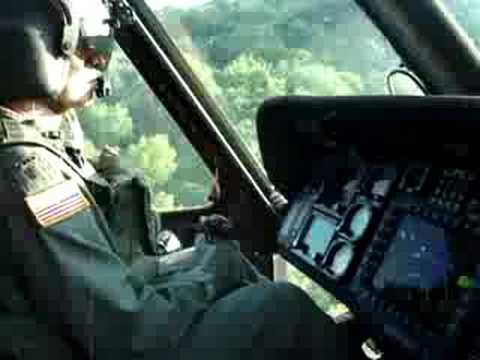 HH-60 L blackhawk flying low level