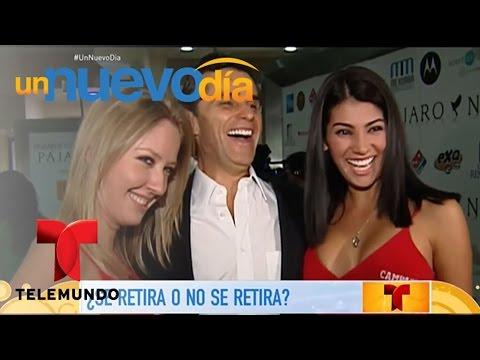 Humberto Zurita aclara los rumores sobre su retiro | Un Nuevo Día | Telemundo
