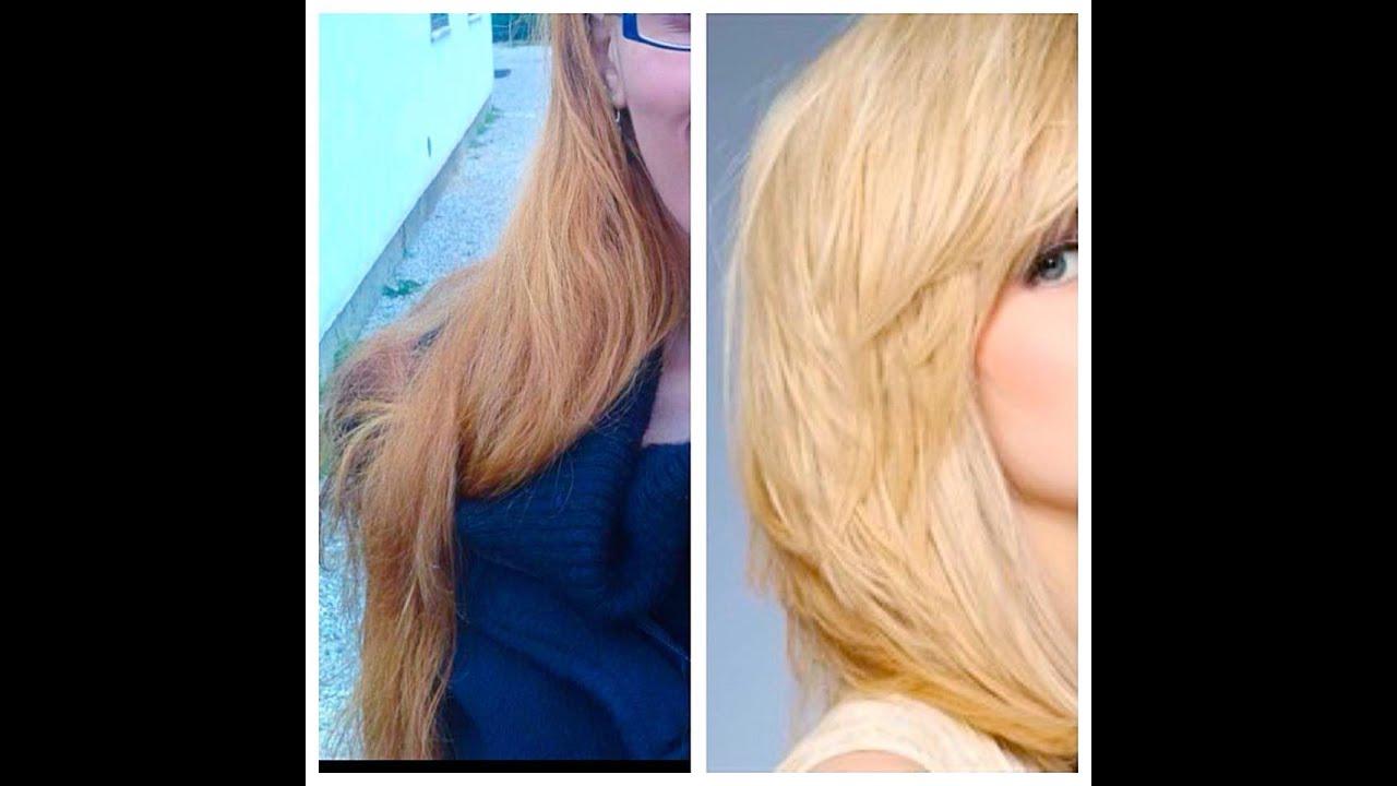 Come togliere il colore nero dai capelli