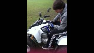 How to change gears and drift on a quad bike