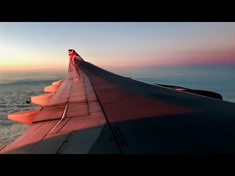 Virgin Atlantic Airways – Airbus A340-642 – JFK-LHR – Takeoff and Landing – Inflight Series Ep. 100