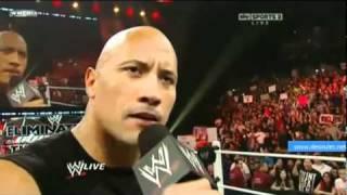 WWE RAW 2/14/11 The Rock Returns Part 1/1