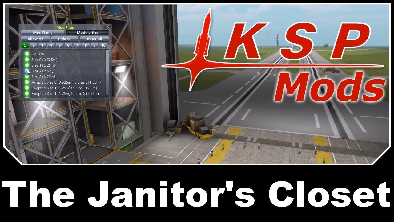 KSP Mods   The Janitoru0027s Closet