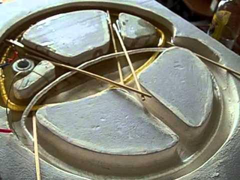 Видео Металлоискатель Квазар AVR на DIP компонентах Часть 4 3 Изготовление из пенопласта DD формы