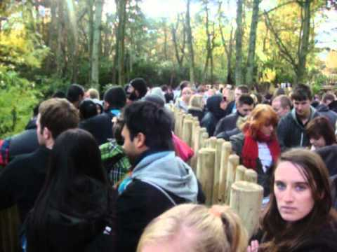 Alton Towers 1 - Queuing Up