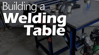 Weld'ya look at that: I built a welding table