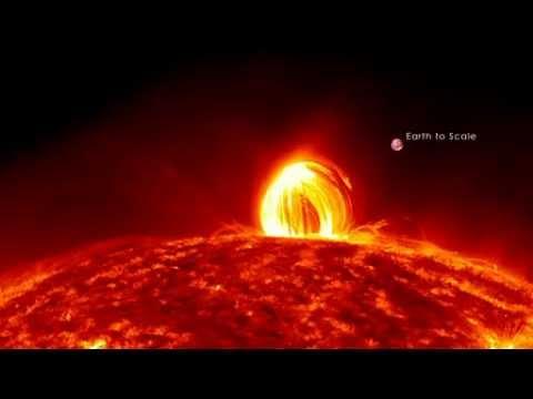 Raining Loops on the Sun - Amazing NASA Solar Video