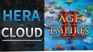 My First AoE2:DE Commentary - Hera vs Cloud