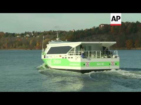 Trials of the world's fastest all-electric commuter ferry ...