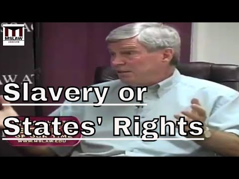 Slavery or States Rights- The Causes of the Civil War
