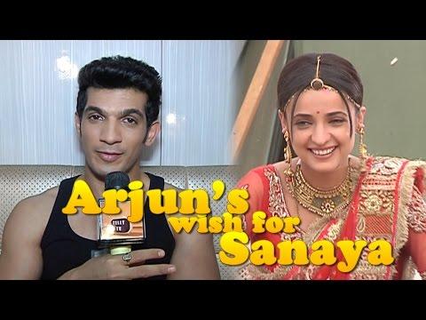 Arjun Bijlani aka Shikhar of MATSH wishes Sanaya Irani luck for Jhalak Dikhla Jaa