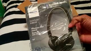 Unboxing 📦 - Philips Wireless Bluetooth Nfc Headphones 🎧