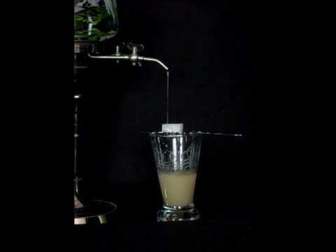Dégustation traditionnelle de l'absinthe
